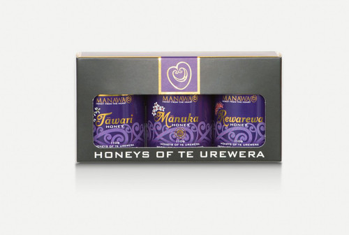 Manawa - Collection of Honey's of Te Urewera (Tawari, Rewarewa & Manuka)