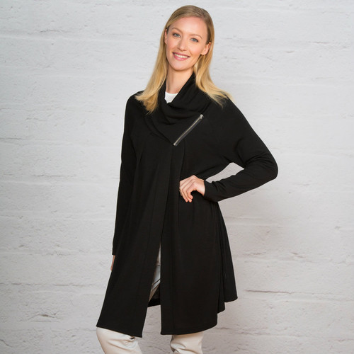 Bay Road Merino Catwalk Cape/Coat