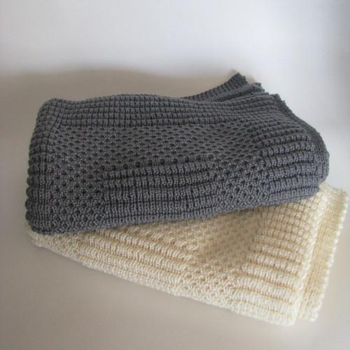 Tudor Knits - Merino Wool Baby Capsule Blanket