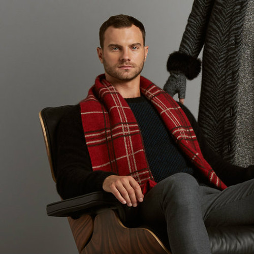 McDonald - Broad Check Scarf
