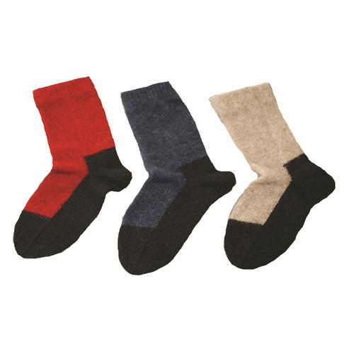 Cosy Kiwi - Child's Merino & Possum Socks