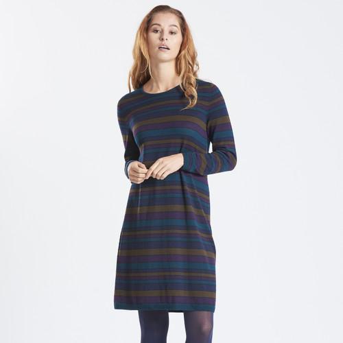 Optimum Merino - Multi Stripe Dress