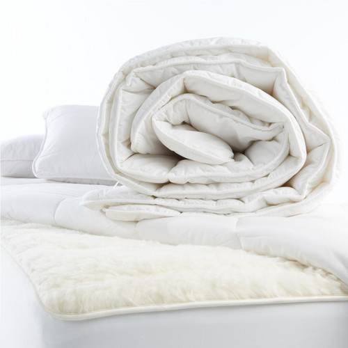 MI Woolies Wonderwool Single Wool Fill Duvet or Quilt Inner (winter weight)
