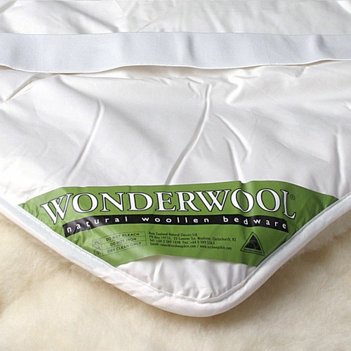 Mi Woolies Wonderwool Reversible Wool Underquilt-Strapped (California King)