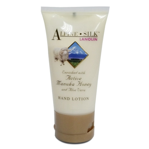 Alpine Silk Lanolin and Manuka Honey Hand & Body Lotion 100ml