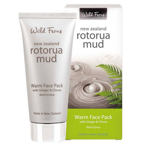 Wild Ferns Rotorua Mud Warm Face Pack