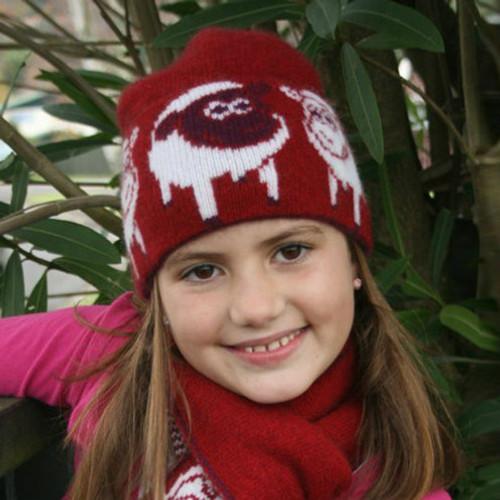 Cosy Kiwi - Merino & Possum Little Lamby Child's Beanie