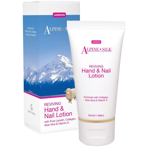 Alpine Silk - Reviving Hand & Nail Lotion 50ml