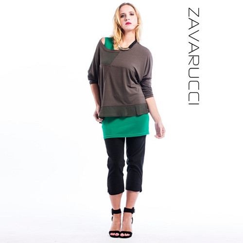 Zavarucci - Capri 3/4 Stretch Pants