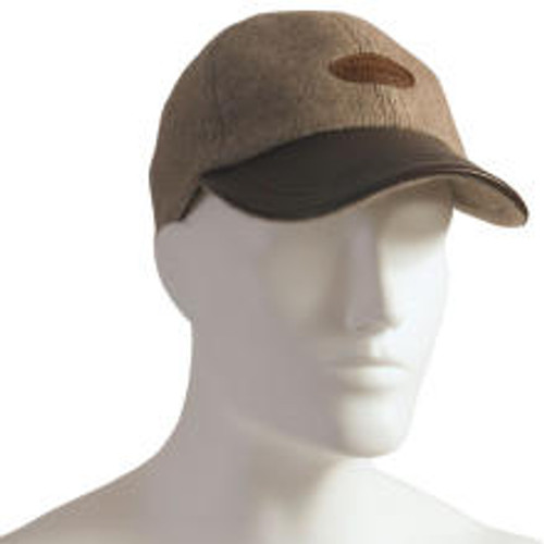 McDonald - Possum & Merino Cap with Leather Peak