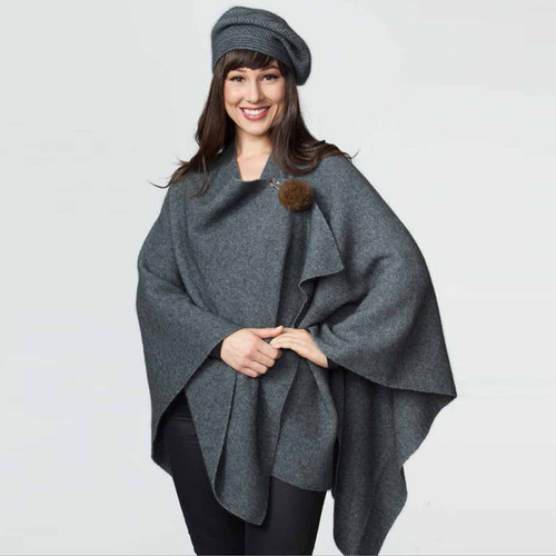 Possumdown Merino - Possum Cocoon Wrap