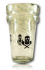 Ski Mask Glass - Twisted Tonic Double Cup Signed by the artist(s) and numbered, these are truly one-of-a-kind collectables!