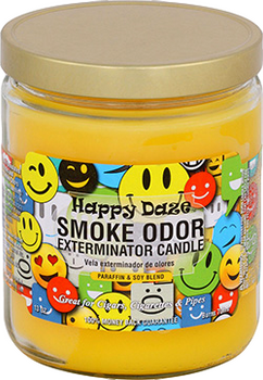 13OZ HAPPY DAZE ODOR EXTERMINATOR CANDLE