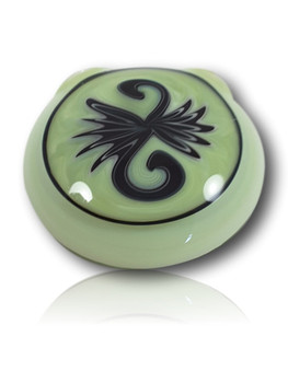 """1.75"""" TANK GLASS SOLID COLOR WIGGY PENDANT"""