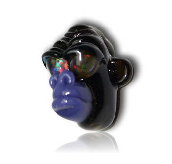 Firefly Glass - Shrunken Monkey Head Pendy's!
