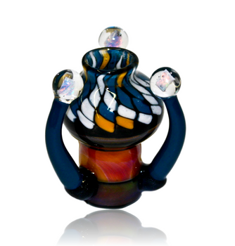 STRATISPHERE GLASS COIL POT TRI OPAL DOME