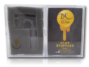 DC Glass Globstopper - 14mm Male , 90 Degree. Regular Size.