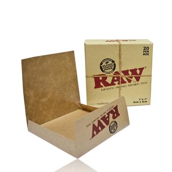 RAW PARCHMENT POUCHES 20/BOX