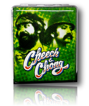 Cheech & Chong - Leather Cigarette Case. Various Designs.