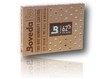 320g Boveda Pack - 62% Moisture - Pack size is recommended for 5 Gallon container.