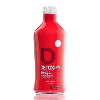 DETOXIFY MEGA CLEAN NO TIME 32OZ W CAPSULE