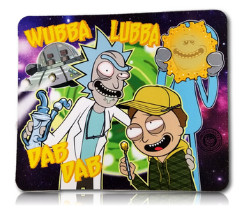 """Wubba Lubba"" Dab Pad 7.5"" x 9"""