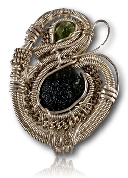 Dylan Wallace - Wire Wrap Pendant.