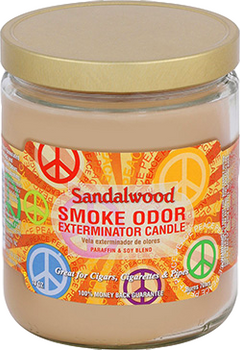 13OZ SANDALWOOD ODOR EXTERMINATOR CANDLE