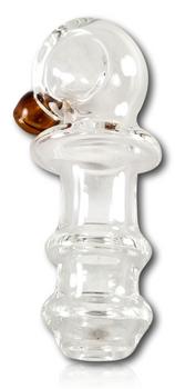 "Squish Glassworks - 3"" Color Carb Maria Spoon."