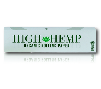 High Hemp Brand - King Size Slim Rolling Papers.