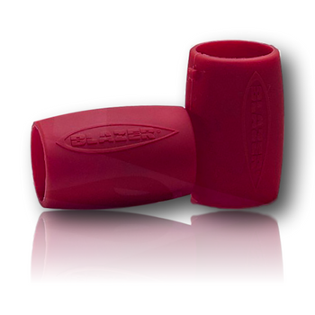 Blazer Big Shot Nozzle Guards!! Package of 2, Black or Red. Silicone sleeve for your nozzle, no more burnt forearms!