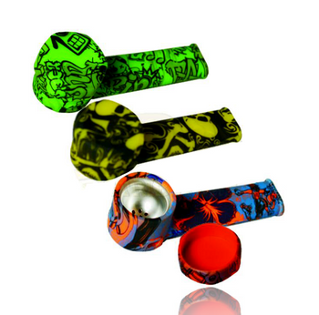 SILICONE PRINTED HANDPIPE