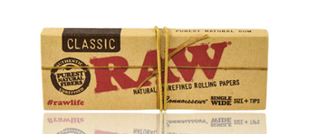RAW CLASSIC SINGLE WIDE CONNOISSUER