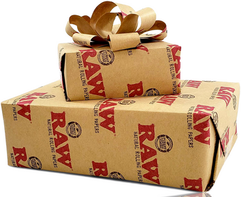 RAW BRAND WRAPPING PAPER