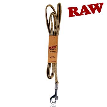 RAW DOG LEASH, W/RAW LOGO EMROIDERY