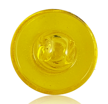 JS GLASS BEVELLED (CFL) TERPS COLLIDER CAP (comes with 3 boro marbles)
