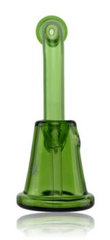 "5"" HYDROS GREEN MINI SHERLOCK BUBBLER"