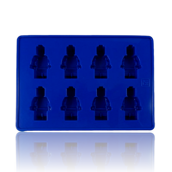 DOPE MOLDS 8 X ROBOT SILICONE MOLD - BLUE