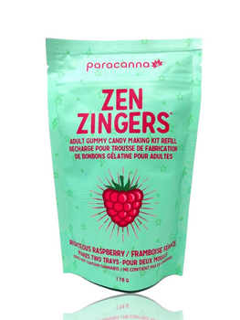 PARACANNA ZEN ZINGERS REFILL - RIGHTEOUS RASPBERRY
