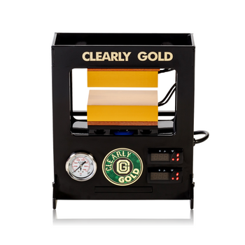 """CLEARLY GOLD """"GOLD STANDARD"""" 10 TON ROSIN PRESS"""