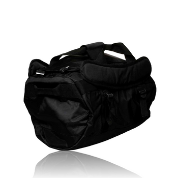 BLACK CARBON TRANSPORT DUFFLE BAG - SMALL