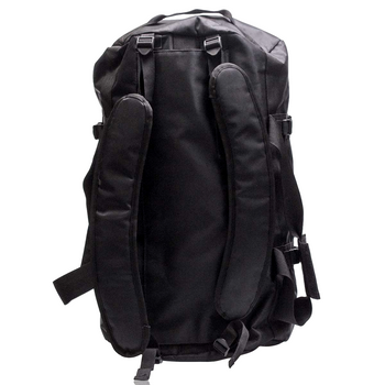 BLACK CARBON TRANSPORT DUFFLE BAG - LARGE