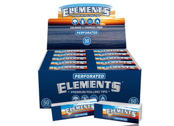 ELEMENTS TIPS PERFORATED - CHLORINE & CHEMICAL FREE