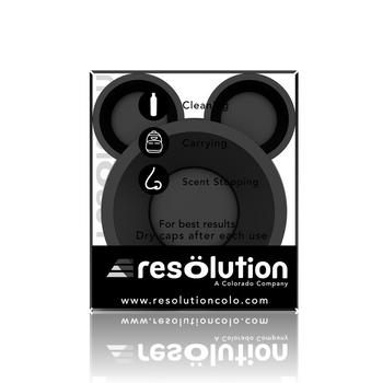 RESOLUTION BLACK BONG CAPS