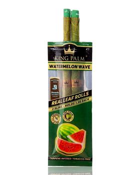 KING PALM SLIM PRE ROLLS - WATERMELON WAVE 2 PACK
