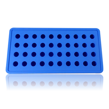 DOPE MOLDS 40 X ICE BALL SILICONE MOLD - BLUE