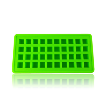 DOPE MOLDS 40 X ICE CUBE SILICONE MOLD - GREEN