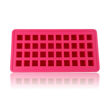 DOPE MOLDS 40 X ICE CUBE SILICONE MOLD - PINK