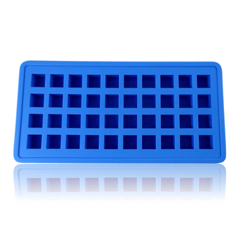 DOPE MOLDS 40 X ICE CUBE SILICONE MOLD - BLUE