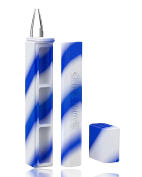 DAB OUT - BLUE WHITE DUGOUT